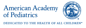 The American Academy of Pediatrics (AAP) logo