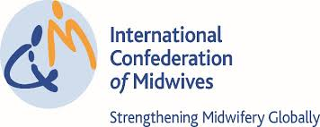 International Confideration of Midwives logo